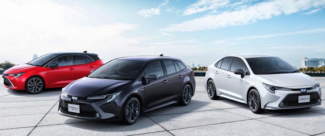 日規Toyota Corolla正式迎接新世代車型。 摘自Toyota
