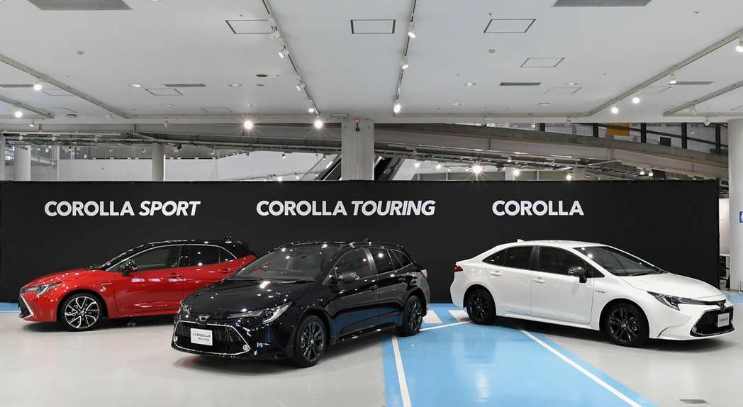 新世代Toyota Corolla Sedan與Corolla Touring已...