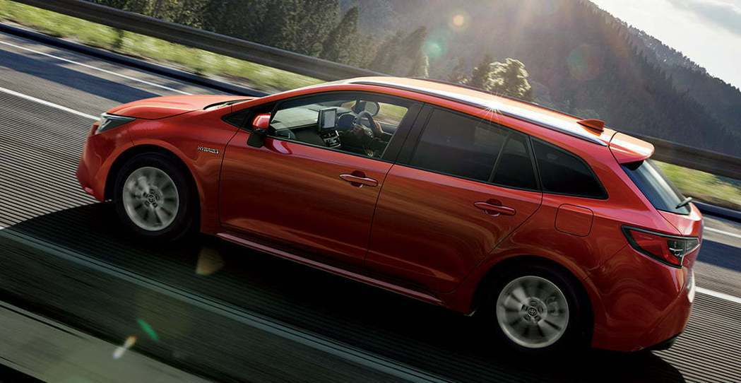 日規Toyota Corolla Touring。 摘自Toyota