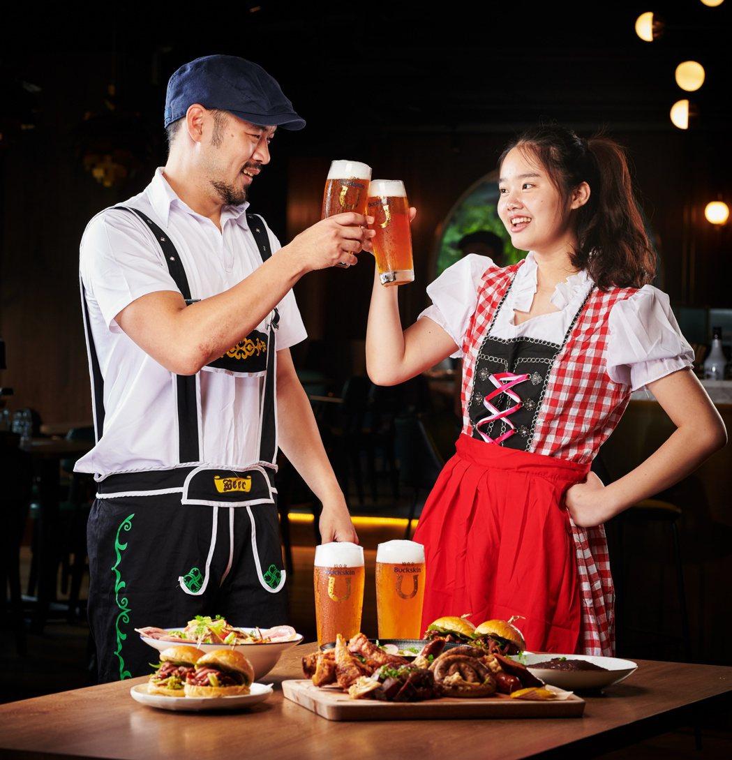 德國啤酒節活動期間(9/20-10/6),柏克金餐酒集團提供德國啤酒節限定酒款「...