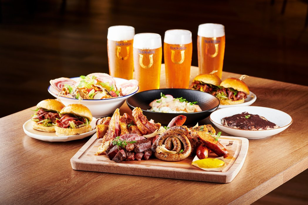 Buckskin Beerhouse 柏克金啤酒餐廳推出「德國啤酒節限定四人套餐...
