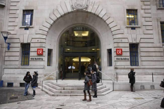 倫敦大學政經學院。(圖/翻攝自倫敦政經學院臉書粉絲專頁)