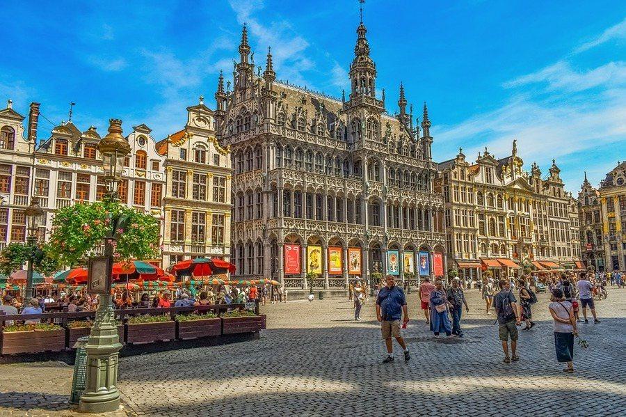 比利時的布魯塞爾是歐盟總部所在地。圖為布魯塞爾大廣場。(photo by Pix...