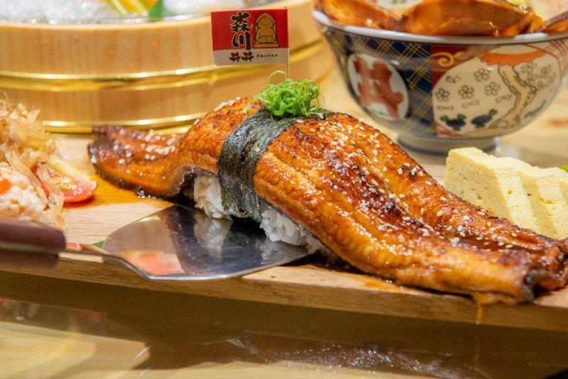 ▲富有豐富油脂的鰻魚,滑嫩的口感真的是好吃到沒話說。