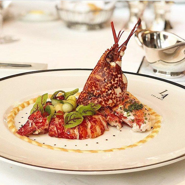 獲得三星的Les Amis,乃是新加坡極具代表性的高級法式餐廳。圖/取自Les Amis Restaurant粉絲頁