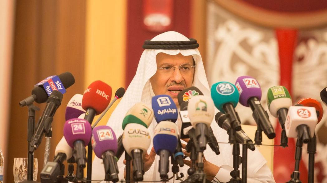 沙國能源部長阿布都阿濟茲強調,本月有能力履行對客戶的承諾。  (歐新社)