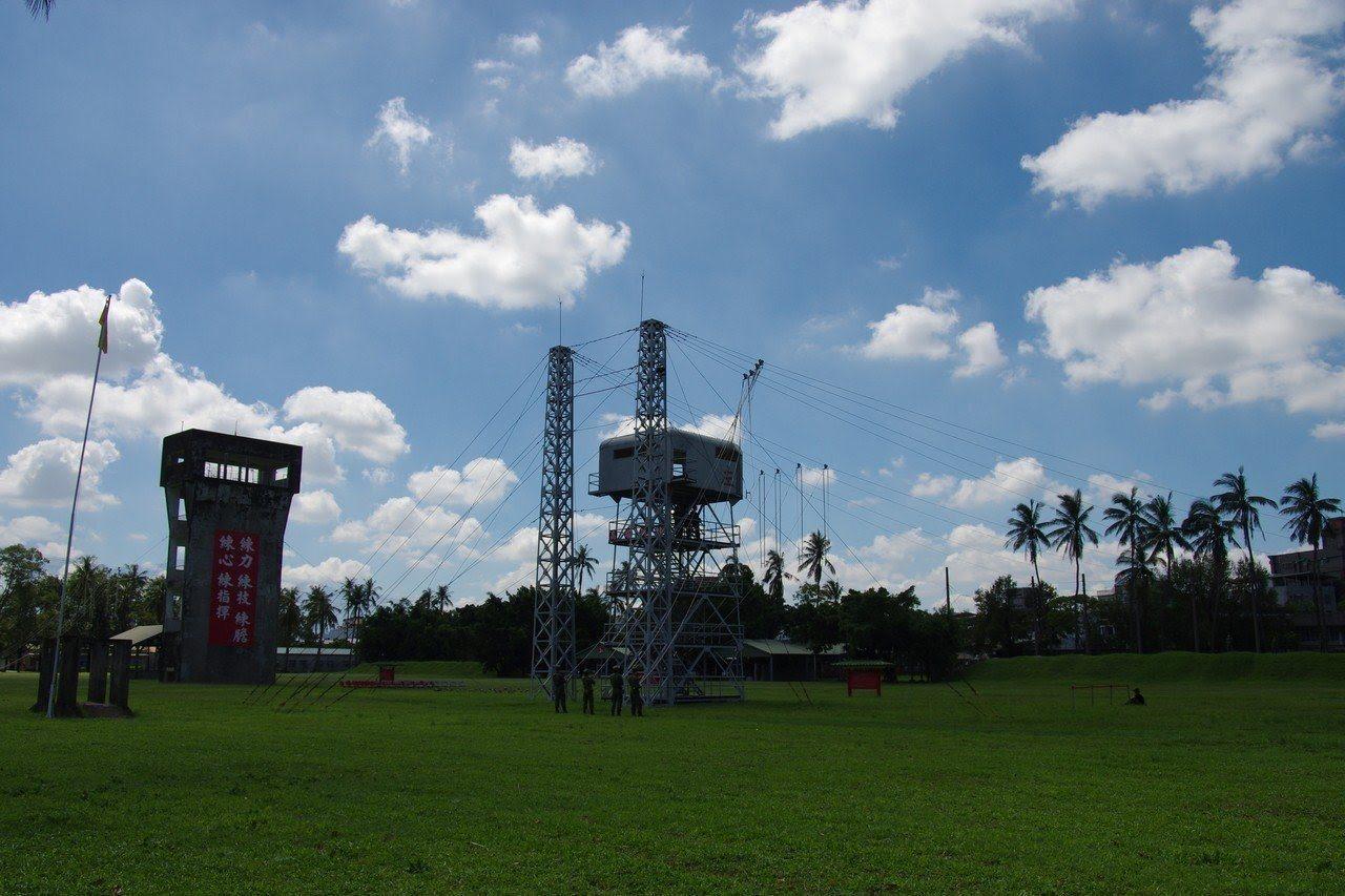 屏東大武營區,是國軍傘兵的搖籃。記者程嘉文/攝影