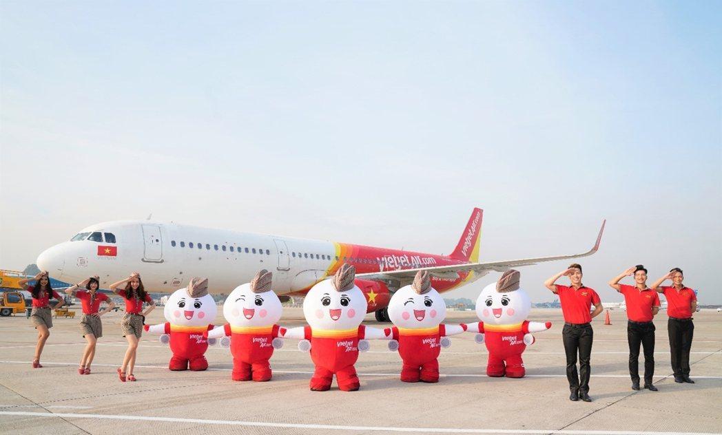 越捷航空祭出百萬張0元起國內優惠機票,陪你暢遊越南各地。 圖/越捷航空提供