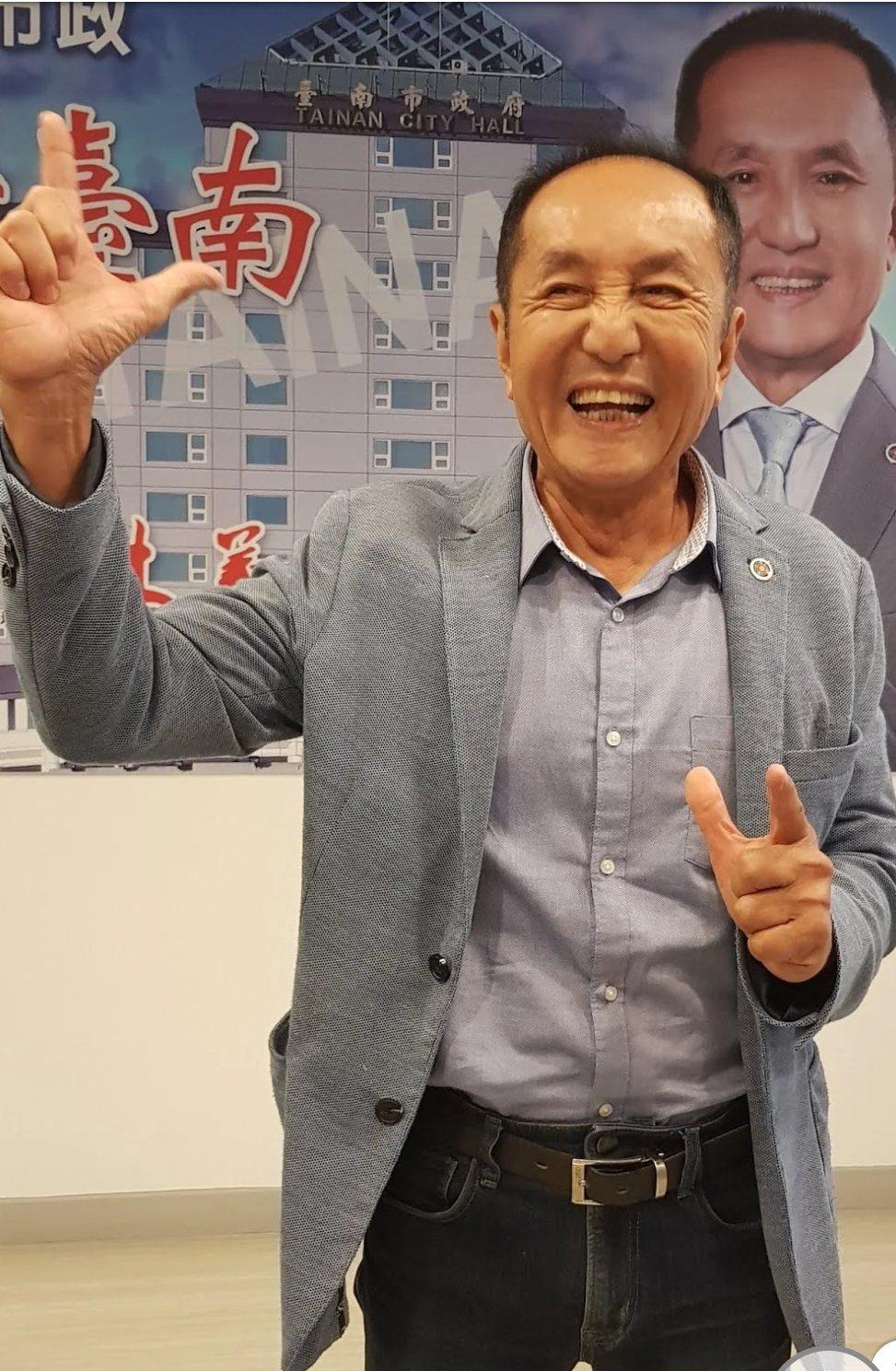 台南「虧雞福來爹」林義豐。圖/本報資料照片