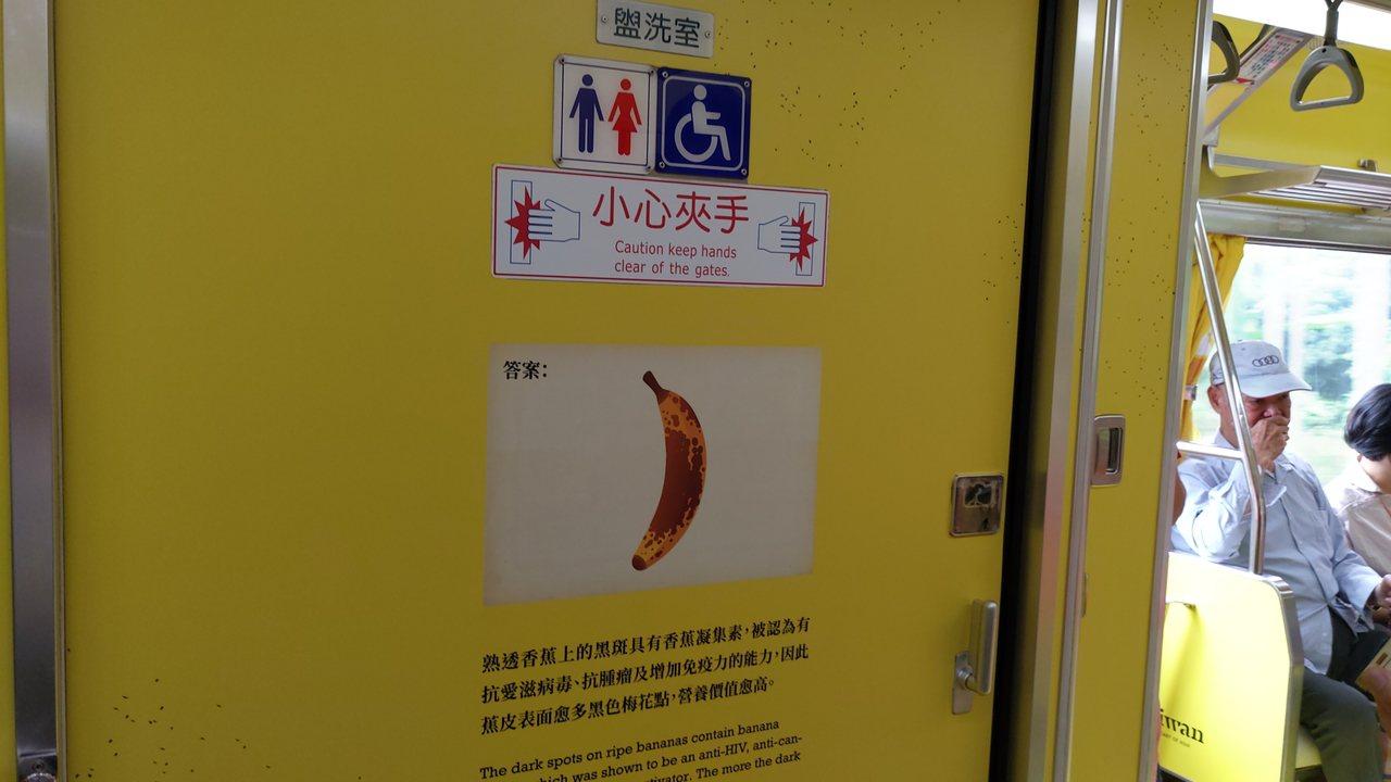 車廂設計。記者董俞佳/攝影
