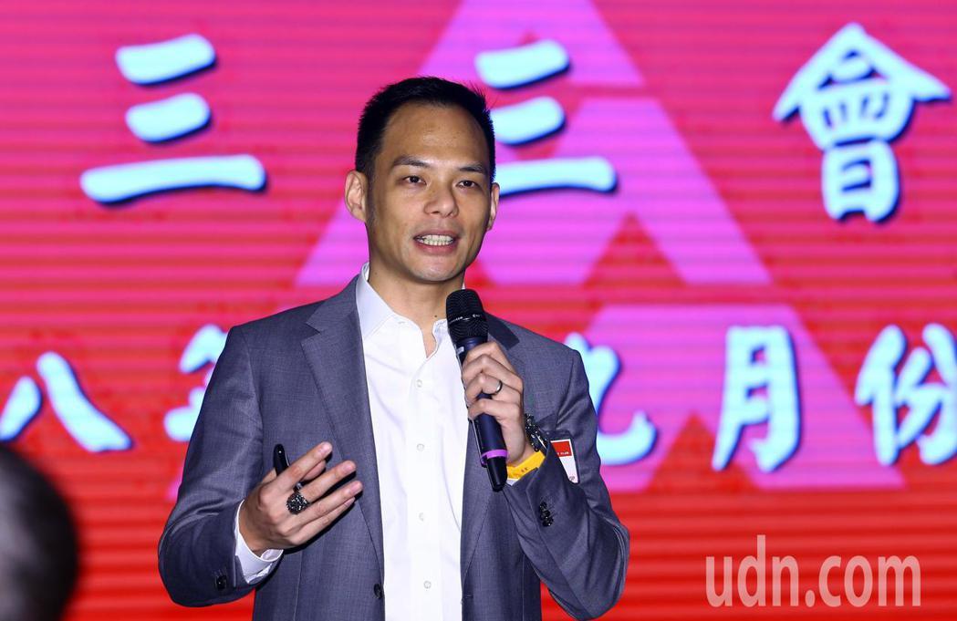 三三企業交流會九月份月會邀請台哥大總經理林之晨以「5G與超5G」為題發表演說。記...