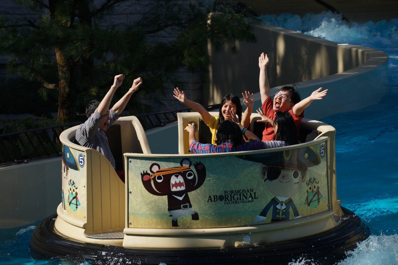 九族文化村增設許多新的遊樂設施,921地震20年,推出半價優惠,感謝當年台灣各界...