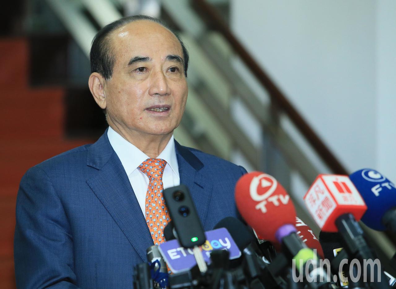 未來的總統大選,王金平表示會走自己的路。。記者潘俊宏/攝影