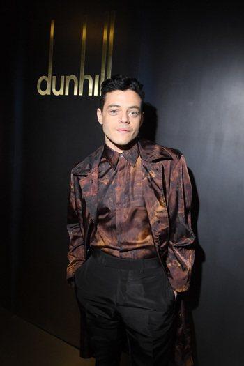 金獎影帝Rami Malek也曾演繹過dunhill的Walnut Dash迷你...