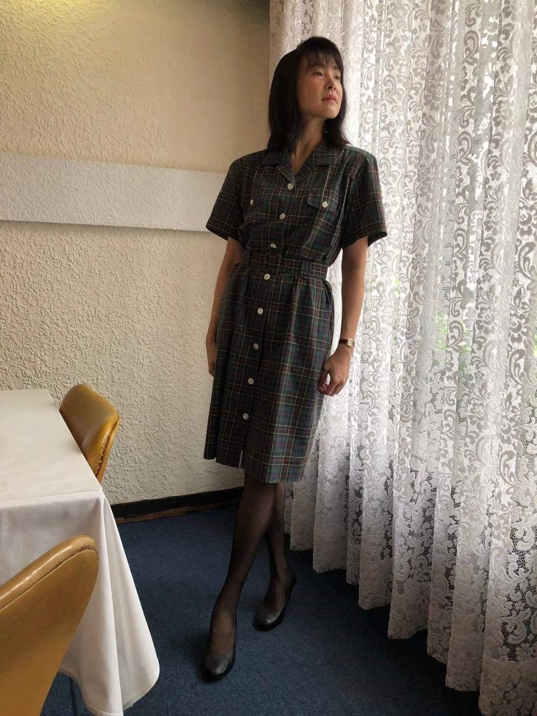 曾珮瑜復古裝扮演出「俗女養成記」。圖/摘自臉書