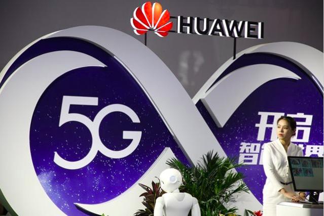 華為已在全球獲得超過60份5G商業合同。(路透社資料照片)