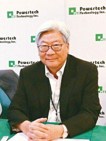 力成科技董事長蔡篤恭。 (報系資料庫)