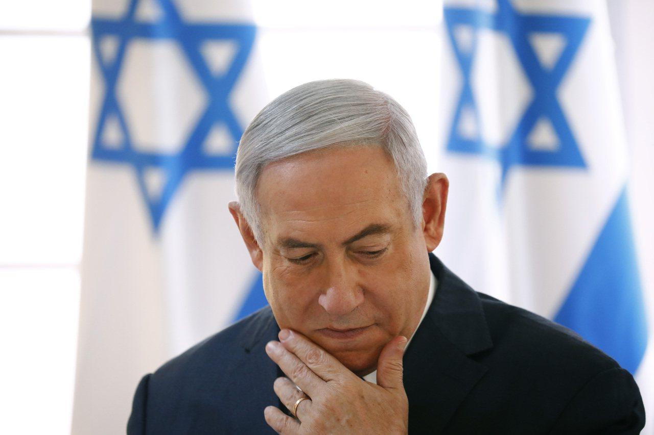 以色列總理內唐亞胡對大選結果感到失望。美聯社