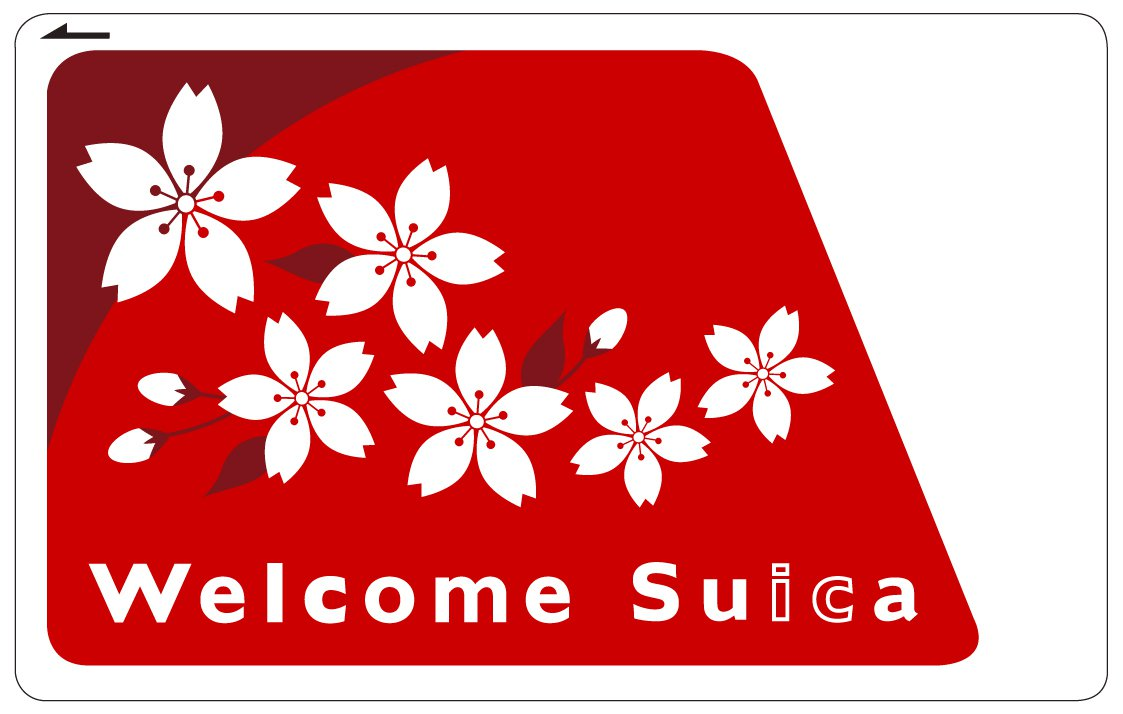 JR東日本新推出的「Welcome Suica」。圖/JR東日本提供