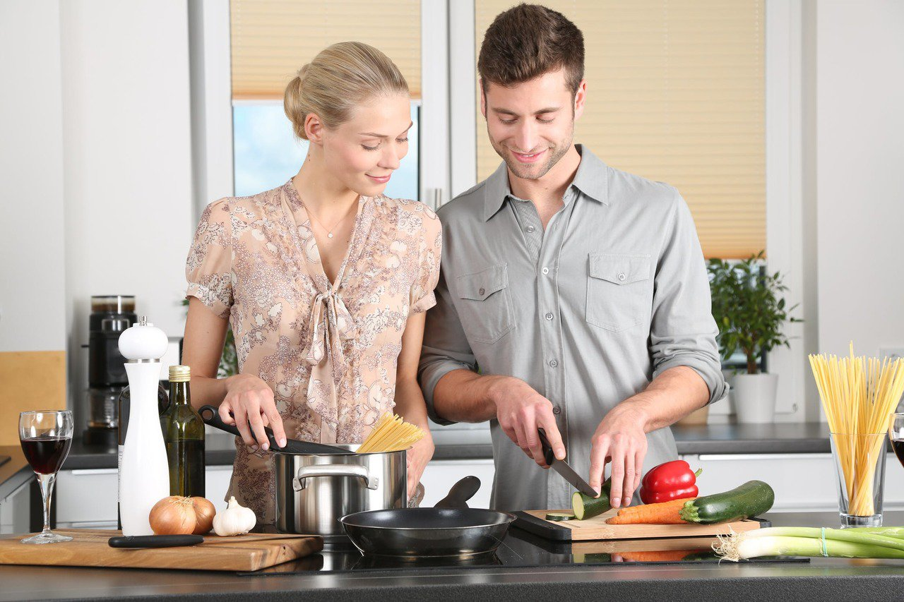 喜愛下廚的人,對於人生目標,有更明確的選擇。圖/摘自 pexels