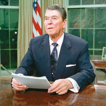 前美國總統雷根。 圖/取自雷根基金會網站
