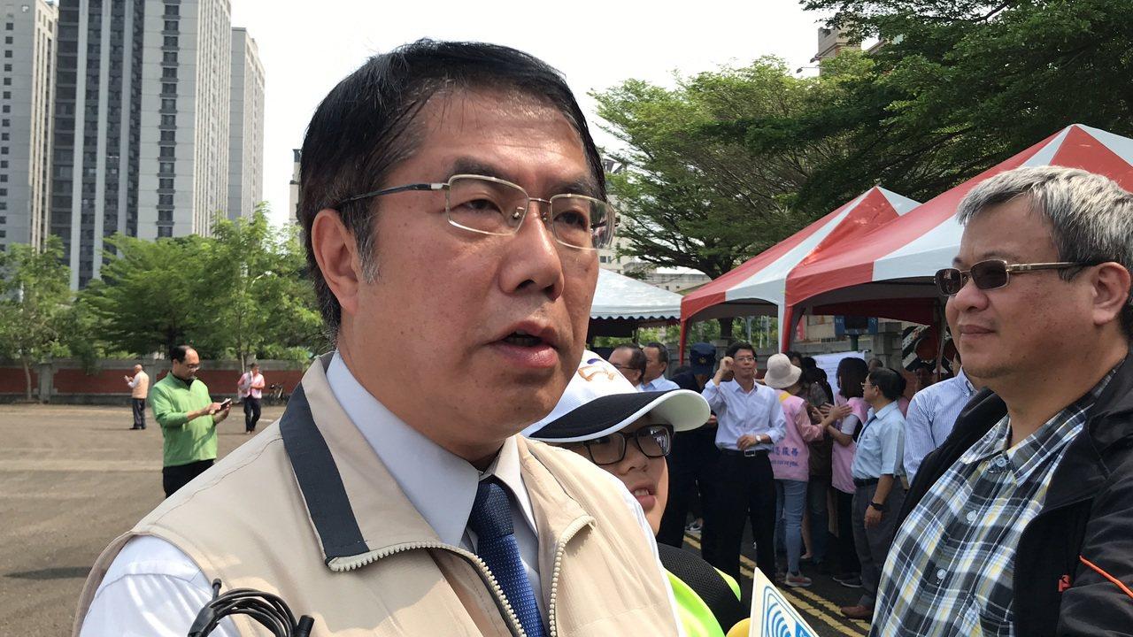 台南市長黃偉哲。本報系資料照/記者鄭維真攝影