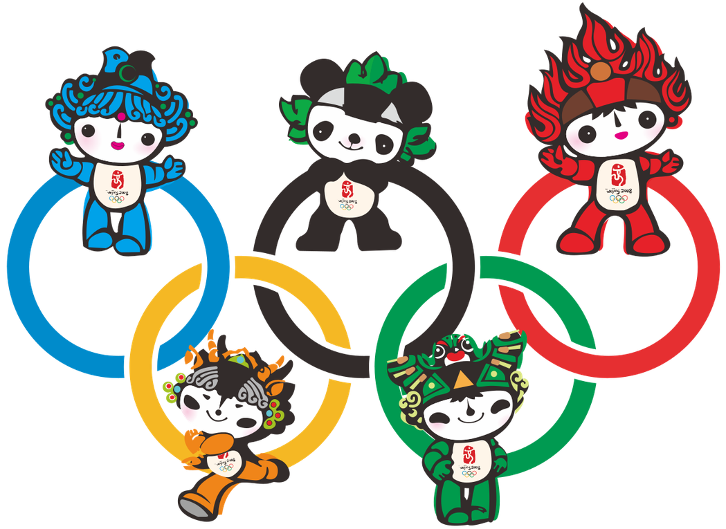 當年北京奧運的福娃也曾被吐槽「好土」,但周邊商品仍然被搶購一空。 圖/摘自維基百...