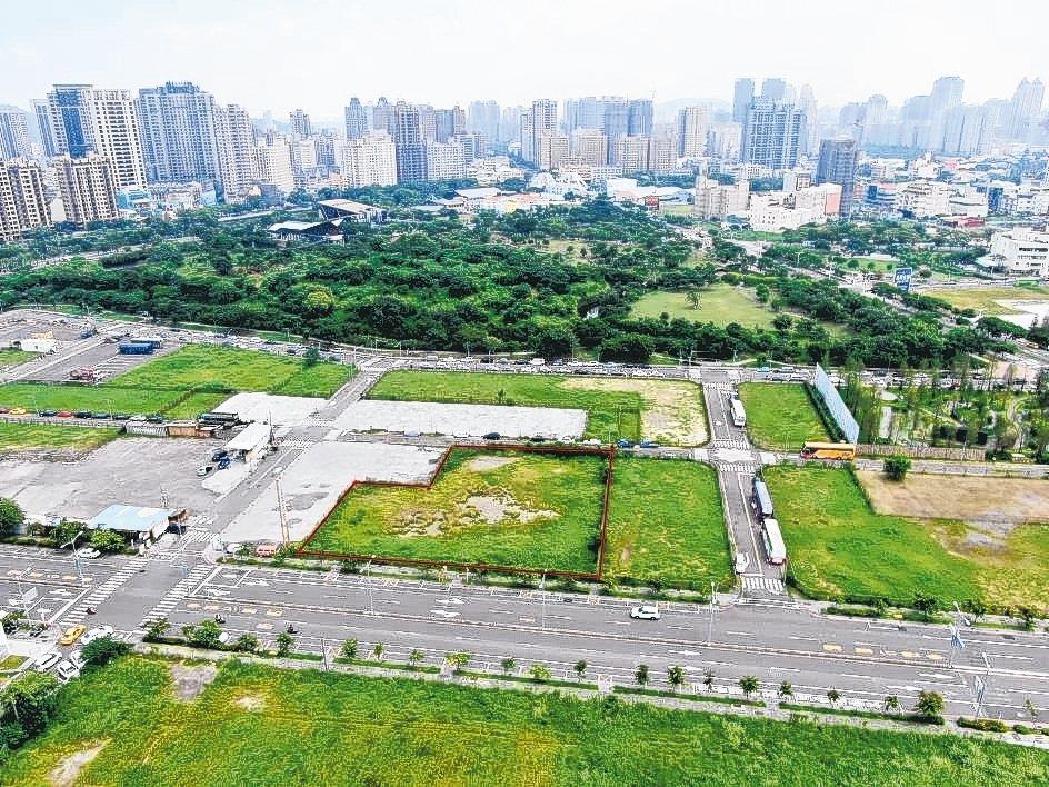 中都重劃區土地標售是外界關注焦點。 高雄市地政局/提供