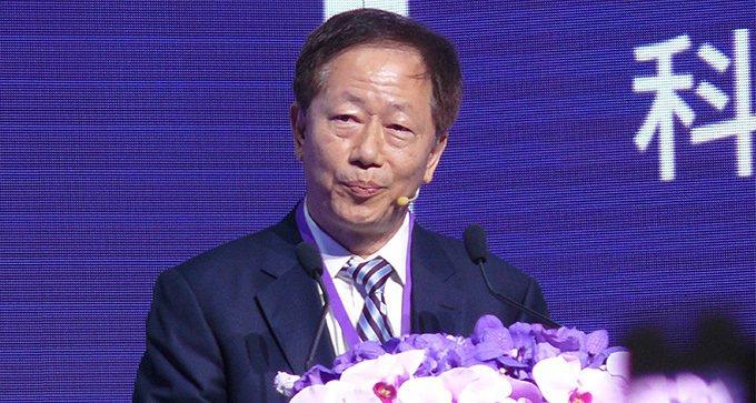 台積電董事長劉德音。中央社