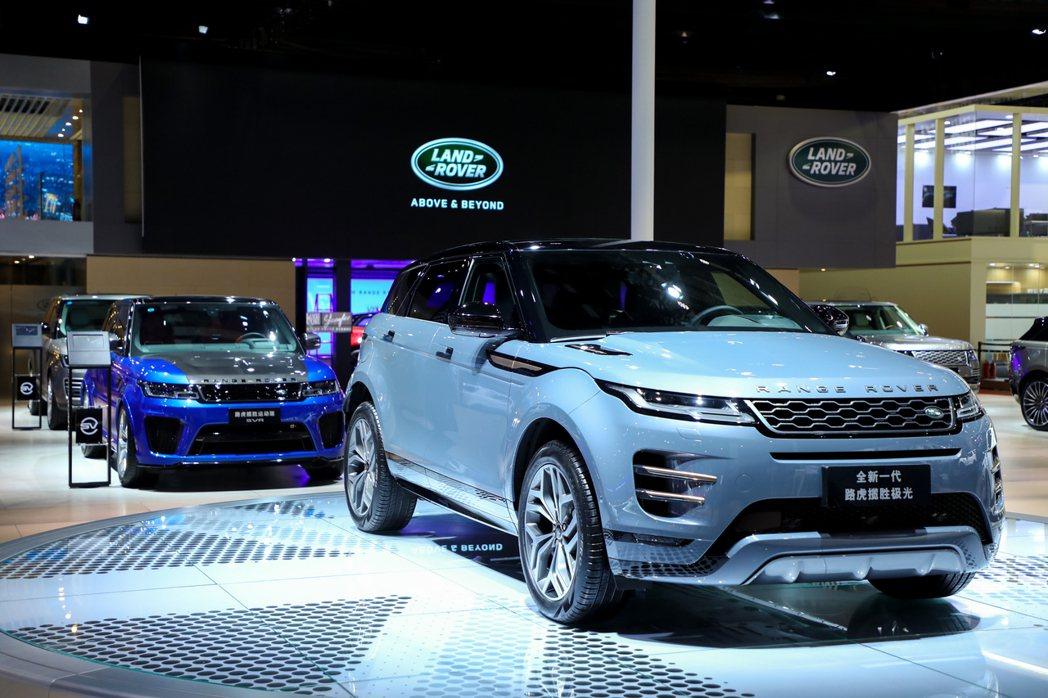 Land Rover八月份於全球共售出24,474輛。 摘自Jaguar Lan...