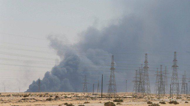 上周末,沙烏地阿拉伯一處油田和石油處理設施遭襲,一度造成國際油價狂飆。重點是:發...