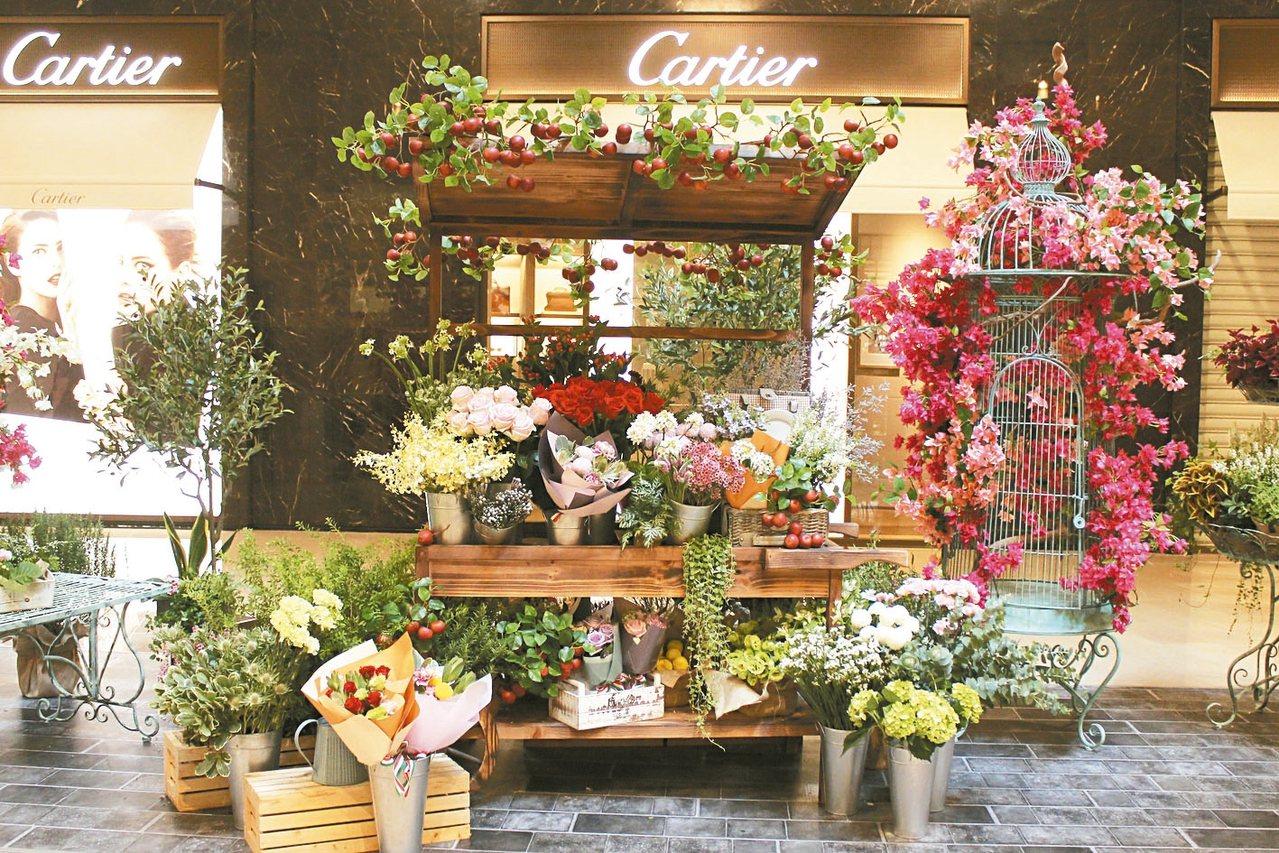 陳譓如已成為國內頂級花藝代名詞,是卡地亞等國際精品指定配合的花藝師;今年更進一步...
