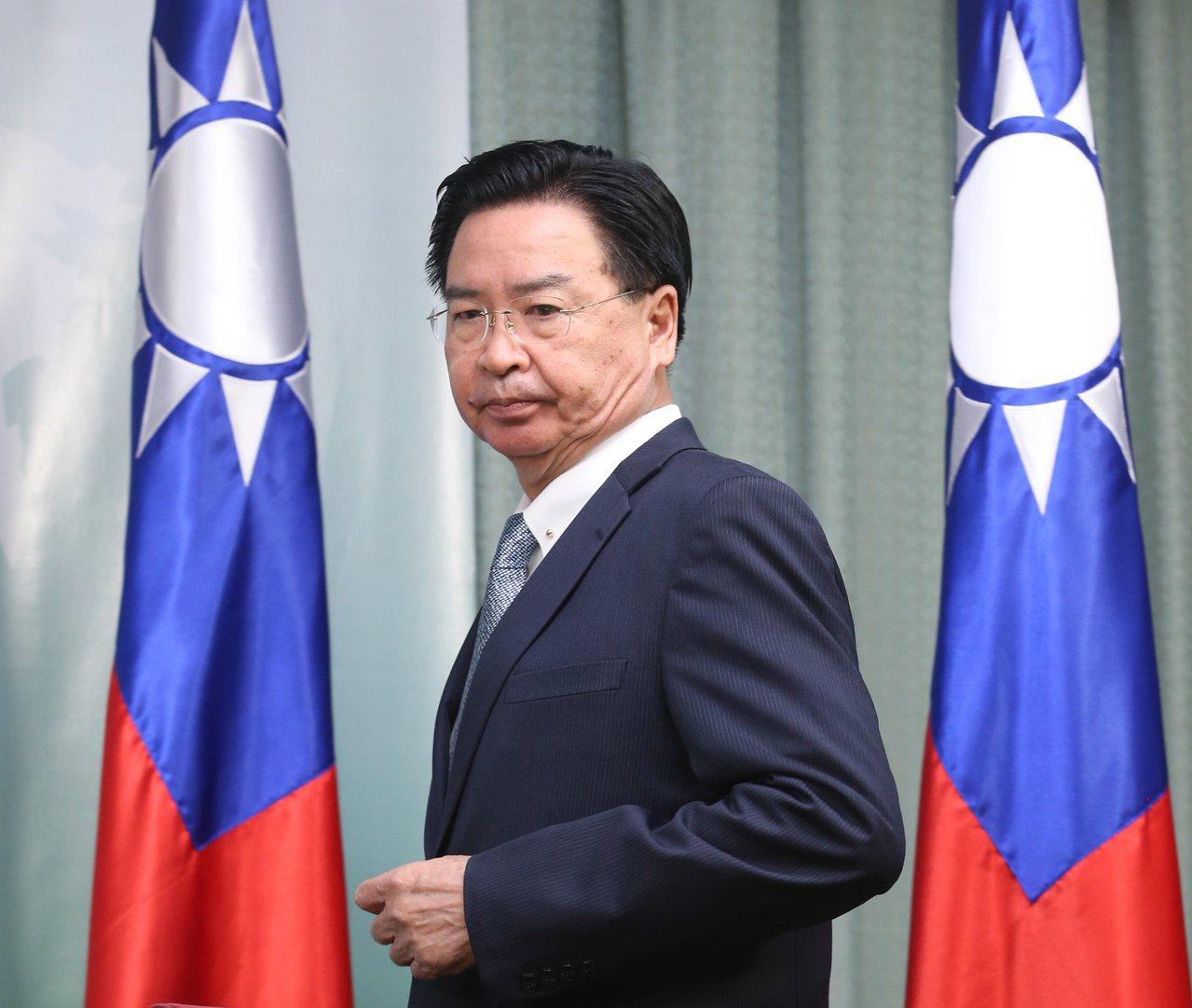 外交部部長吳釗燮。 聯合報系資料照/記者葉信菉攝影