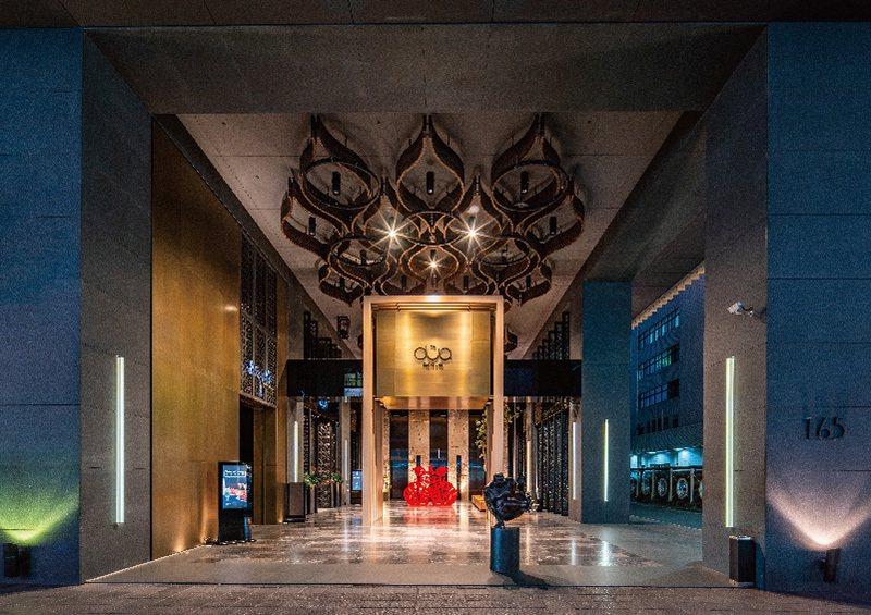 聯上集團飯店品牌「Hotel Dua」大廳。 圖/聯上集團 提供