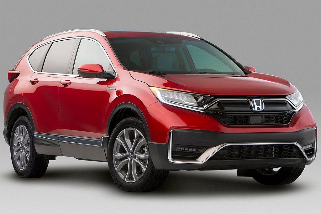新年式Honda CR-V首度將Hybrid複合動力系統導入美國市場,預計202...