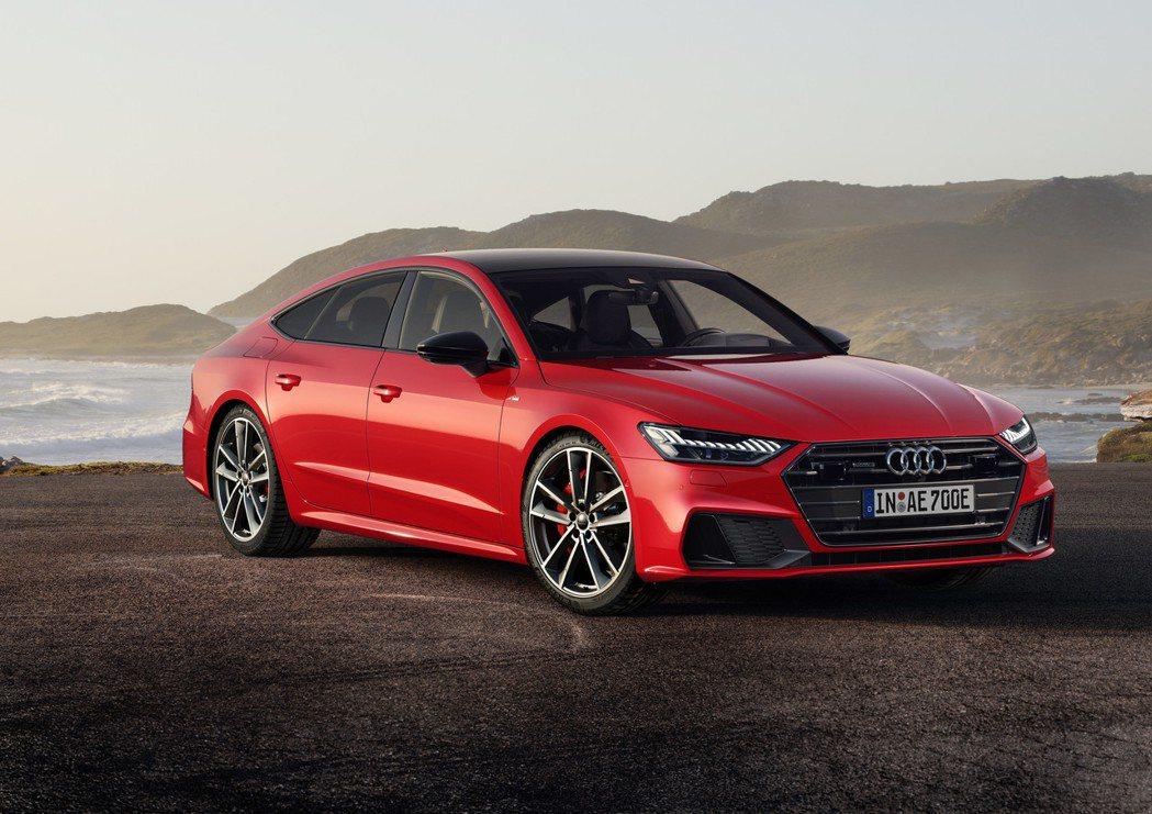 全新Audi A7 Sportback 55 TFSI e quattro綜效馬...