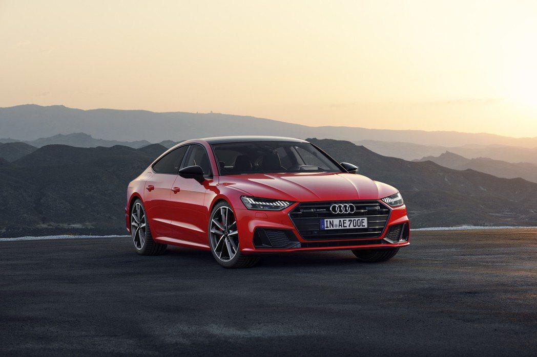 全新Audi A7 Sportback 55 TFSI e quattro在今年...