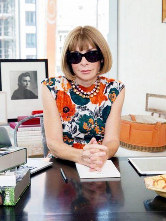 安娜.溫特擁有決定全球時尚風向的影響力,是《穿著 Prada 的惡魔》裡,女魔頭...