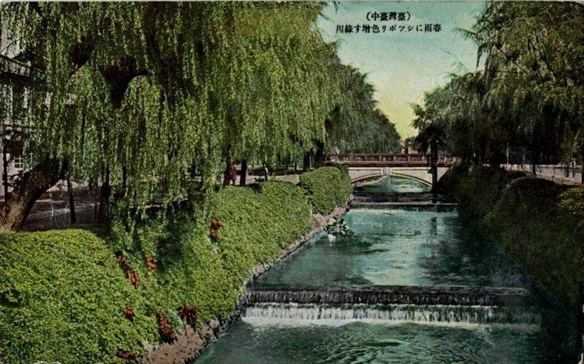 過去的台中有文化城美譽,圖為台中綠川。 圖/維基共享