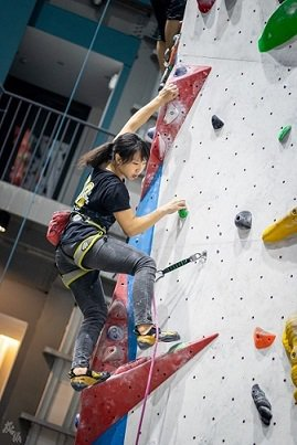 攀岩鞋品牌La Sportiva是愛好攀岩者的最愛。   大埔攀岩場/提供