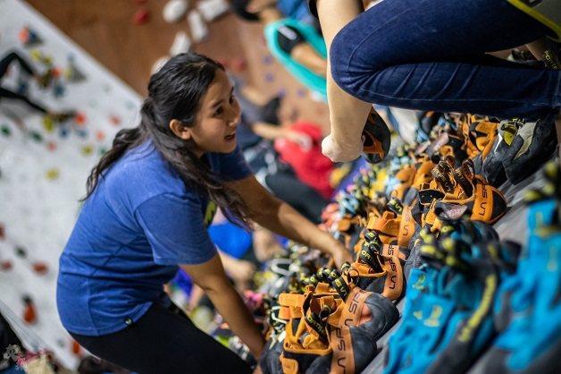 攀岩鞋品牌La Sportiva讓許多熱愛戶外運動的人愛不釋手。   大埔攀岩場...