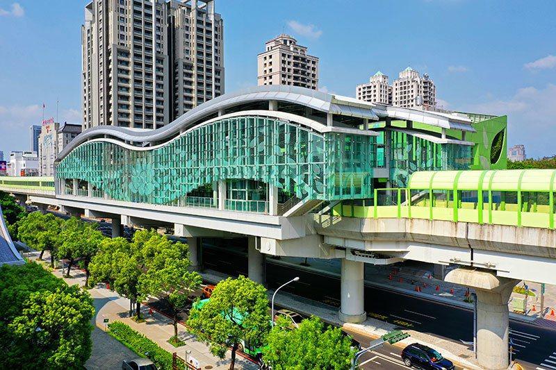 台中第一條捷運即將開通,位在捷運站旁的「文心愛悅」極具優勢。 圖/興富發建設 提...