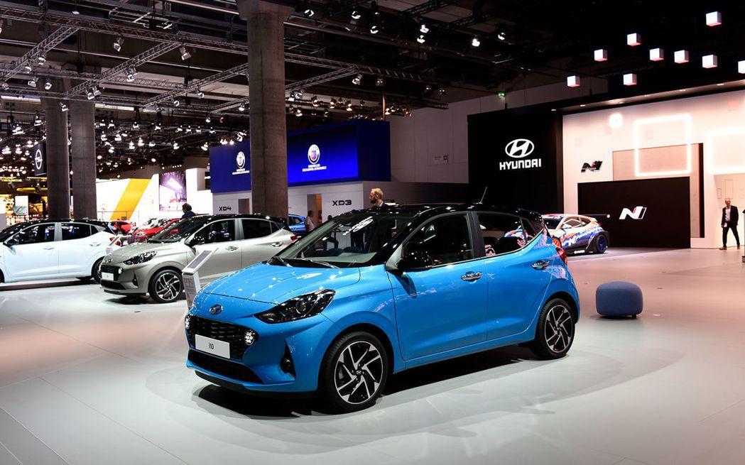 全新第三代Hyundai i10在法蘭克福車展中正式發表。 摘自Hyundai