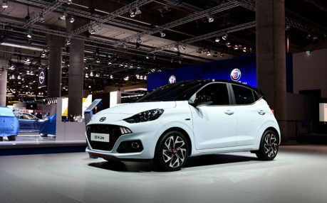 小車運動化更迷人 全新Hyundai i10 N Line法蘭克福車展驚喜現身!