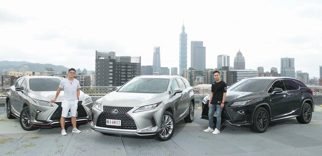 兩位現任LEXUS RX車主特別來體驗全新小改款的RX。 記者陳立凱/攝影
