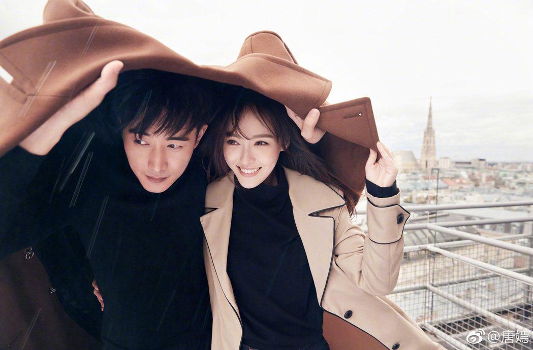 唐嫣與羅晉去年結婚。圖/擷自微博