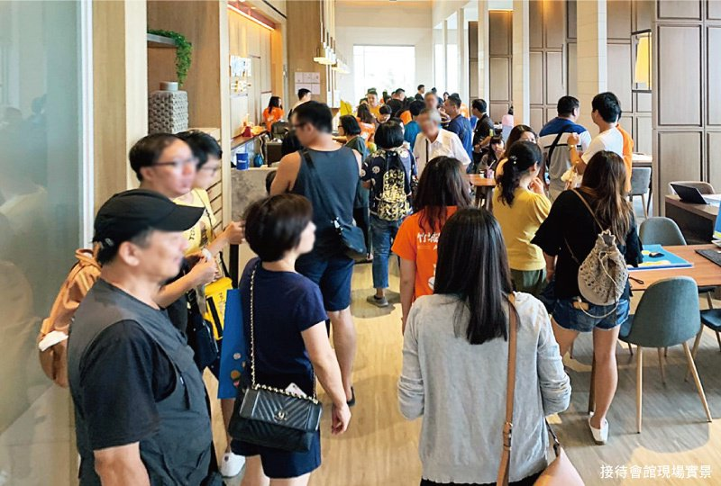 A7地王「竹城甲子園」轟動熱銷,週週來人破百組! 圖/A7地王竹城甲子園 提供