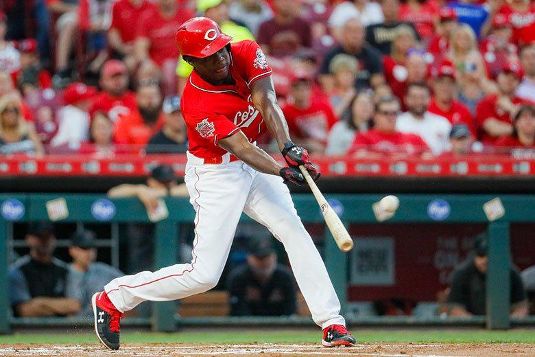 紅人新秀外野手阿奇諾在3A轟得比2A多,上大聯盟後竟然更兇猛,170個打數就轟出...