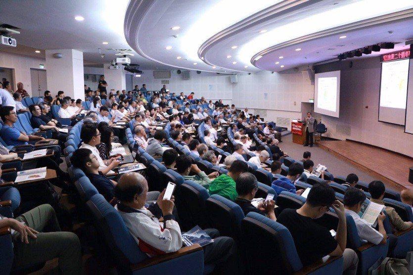 921地震二十週年回顧舆省思研討會現場盛況(社團法人中國土木水利工程學會提供)