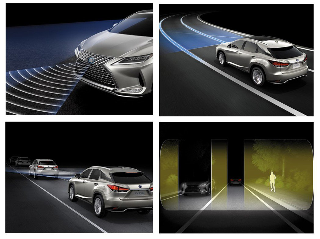 Lexus Safety System+ 2.0 智動駕駛輔助系統。 圖/LEX...